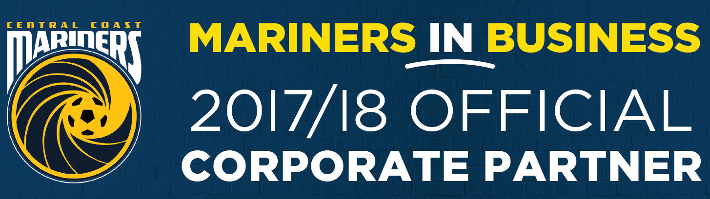 Central Coast Mariners - Corporate Sponsors 2017-2018